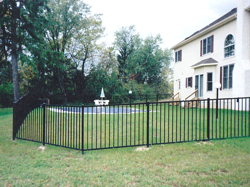 2 Rail style 200 Residential Aluminum Fence