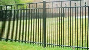 3 Rail style 251 Residential Aluminum Fencing