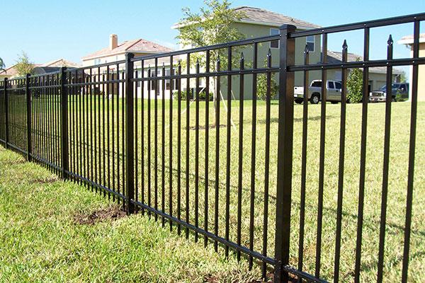3-Rail Style-250 Aluminum Fence