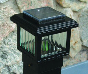 SLA2048 - Polaris Mini Solar Deck Light