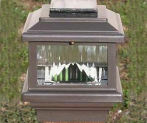 SLW6045 - Polaris Solar Deck Light