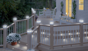 Solar Fence Lighting