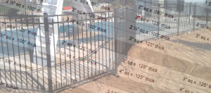 Aluminum Fence Material Specifications