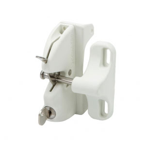 Lokk Latch in white