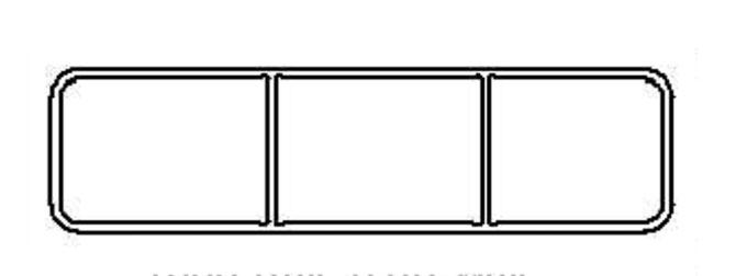 """1.5"""" x 5.5"""" Horse Rail"""