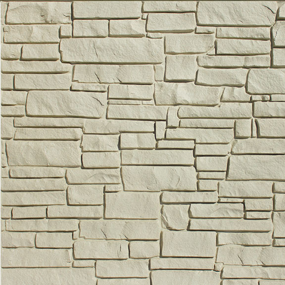 SimTek Beige Simulated Rock Wall