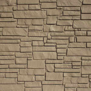 SimTek Brown Granite Simulated Rock Wall