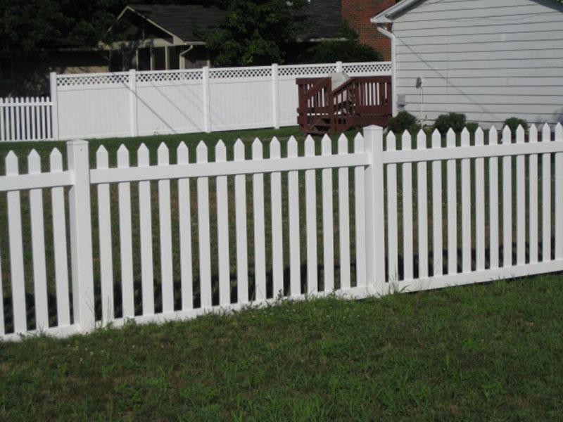 Vinyl Clayshire Fencing