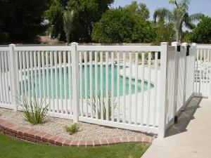 Residential Pool Vinyl Fencing