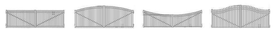 Industrial Aluminum Gate Arches