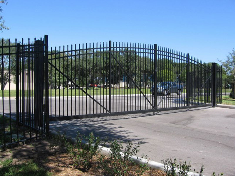 Industrial Aluminum Swing Gate